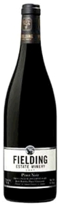 Fielding Estate Pinot Noir 2007, VQA Niagara Peninsula, Jack Rabbit Flats Vineyard Bottle