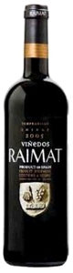 Raimat Tempranillo/Shiraz 2005, Do Costers Del Segre Bottle