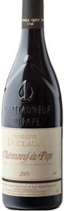 Domaine Duclaux Châteauneuf Du Pape 2005, Ac Bottle
