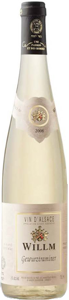 Alsace Willm Gewurztraminer 2008, Ac Alsace Bottle