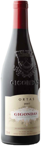 Ortas Gigondas 2007, Ac Bottle