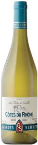 Grandes Serres Les Portes Du Castelas Côtes Du Rhône Blanc 2008, Ac Bottle