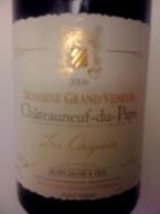 Domaine Grand Veneur Châteauneuf Du Pape Les Origines Bottle