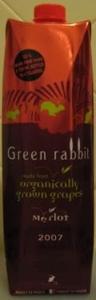 Green Rabbit Organic Merlot Carton 2009, 1000 Ml Bottle
