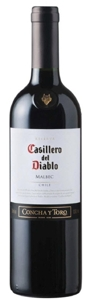 Casillero Del Diablo Malbec 2008 Bottle
