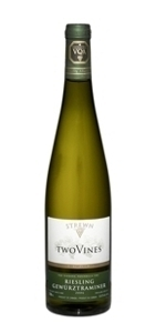 Strewn Two Vines Riesling Gewurztraminer 2008, VQA Semi Dry Bottle