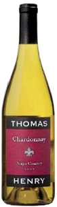 Thomas Henry Chardonnay 2008, Napa County Bottle