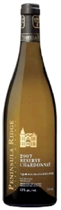 Peninsula Ridge Reserve Chardonnay 2007, VQA Niagara Peninsula Bottle