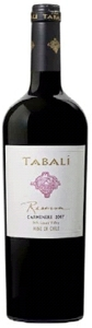 Tabalí Reserva Carmenère 2007, Limarí Valley Bottle