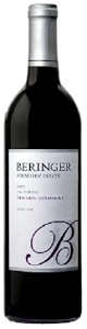 Beringer Founders' Estate Zinfandel 2007, California, Premier Vineyard Selection Bottle