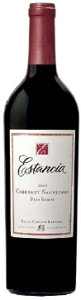 Estancia Cabernet Sauvignon 2007, Paso Robles Bottle
