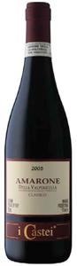I Castei Amarone Della Valpolicella Classico 2005, Doc Bottle