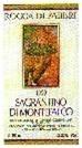 Rocca Di Fabbri Sagratino De Montefalco 2002 Bottle