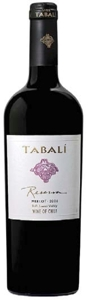 Tabalí Reserva Merlot 2006, Limarí Valley Bottle