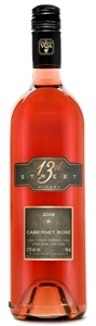 13th Street Winery Cabernet Rose 2008 Bottle