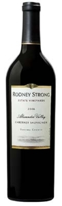 Rodney Strong Cabernet Sauvignon 2006, Alexander Valley, Sonoma County Bottle