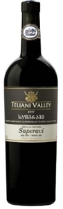 Teliani Valley Saperavi 2007, Unfiltered Bottle