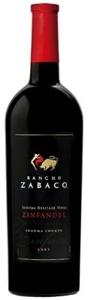Rancho Zabaco Sonoma Heritage Vines Zinfandel 2007, Sonoma County Bottle
