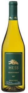 Hess Select Chardonnay 2007, Monterey County Bottle