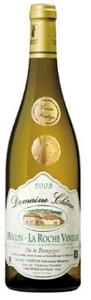 Domaine Chêne Cuvée Prestige Mâcon La Roche Vineuse 2008, Ac Bottle