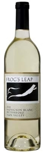 Frog's Leap Sauvignon Blanc 2008, Rutherford, Napa Valley Bottle