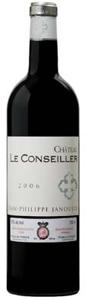 Château Le Conseiller 2006, Ac Bordeaux Supérieur Bottle