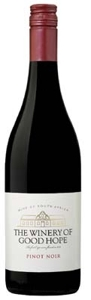 The Winery Of Good Hope Pinot Noir 2009, Wo Western Cape Bottle