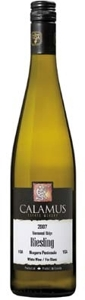 Calamus Estate Riesling 2007, VQA Niagara Peninsula, Vinemount Ridge Bottle