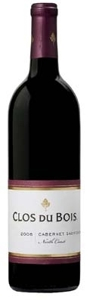 Clos Du Bois Cabernet Sauvignon 2006, North Coast Bottle