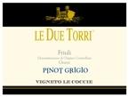 Le Due Torri Pinot Grigio 2008, Friuli Grave Bottle