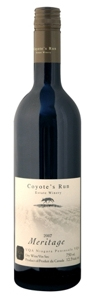Coyote's Run Meritage 2007 Bottle