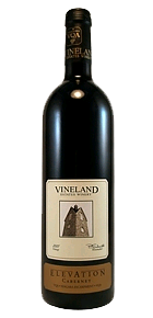 Vineland Estates Elevation Cabernet 2007 Bottle