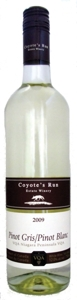 Coyote's Run Pinot Gris/Pinot Blanc 2009 Bottle