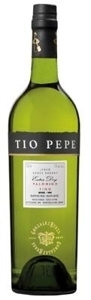 Gonzalez Byass Tio Pepe Palomino Fino Extra Dry Sherry, Do Jerez Bottle