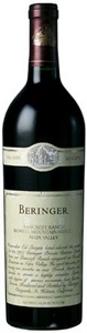 Beringer Howell Mountain Bancroft Ranch Merlot 1996, Napa Valley Bottle