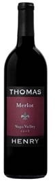Thomas Henry Merlot 2006, Napa Valley Bottle