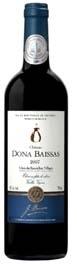 Château Dona Baissas Vieilles Vignes Côtes Du Roussillon Villages 2007 Bottle