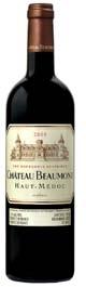 Château Beaumont 2005, Ac Haut Médoc Bottle
