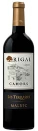 Rigal Les Terrasses Malbec 2008, Cahors Bottle