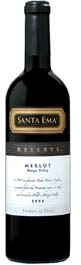 Santa Ema Reserve Merlot 2006, Maipo Valley Bottle