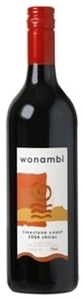 Wonambi Shiraz 2007, Limestone Coast, South Australia  Bottle