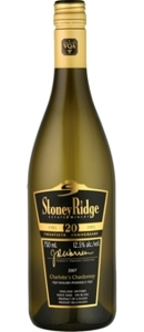 Stoney Ridge Cellars Barrel Aged Chardonnay 2007 Bottle
