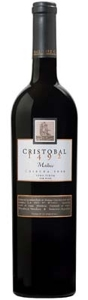 Don Cristobal 1492 Malbec 2008, Mendoza Bottle
