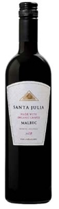 Santa Julia Organica Malbec 2009, Mendoza, Made From Organic Grapes Bottle