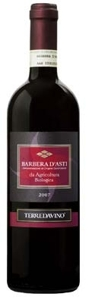 Terre Da Vino Da Agricoltura Biologica Barbera D'asti 2007, Doc, Made From Organically Grown Grapes Bottle
