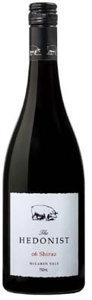 The Hedonist Shiraz 2006, Mclaren Vale, South Australia, Biodynamic Bottle
