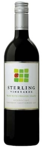 Sterling Vineyards Cabernet Sauvignon 2007, Mendocino County, Made From Organically Grown Grapes Bottle