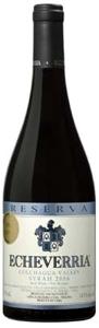 Echeverria Reserva Syrah 2006, Colchagua Valley Bottle