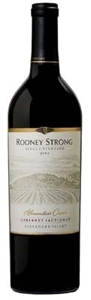 Rodney Strong Alexander's Crown Single Vineyard Cabernet Sauvignon 2005, Alexander Valley, Sonoma County Bottle