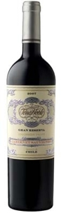 Terranoble Gran Reserva Cabernet Sauvignon 2007, Colchagua Valley Bottle